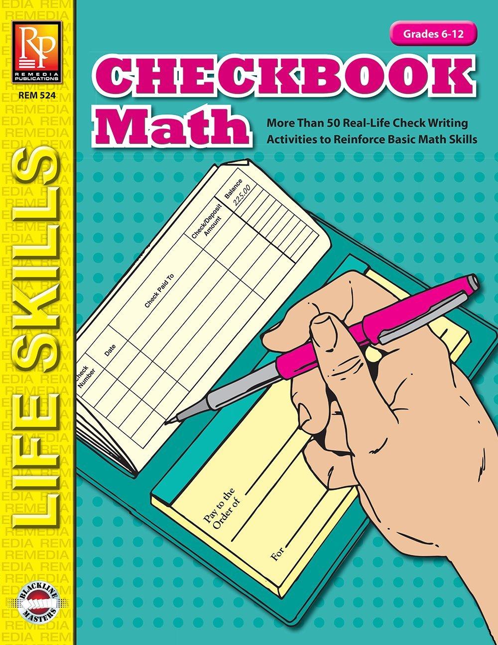 Download Checkbook Math  Reproducible Activity Book (Ord.No. 524) pdf