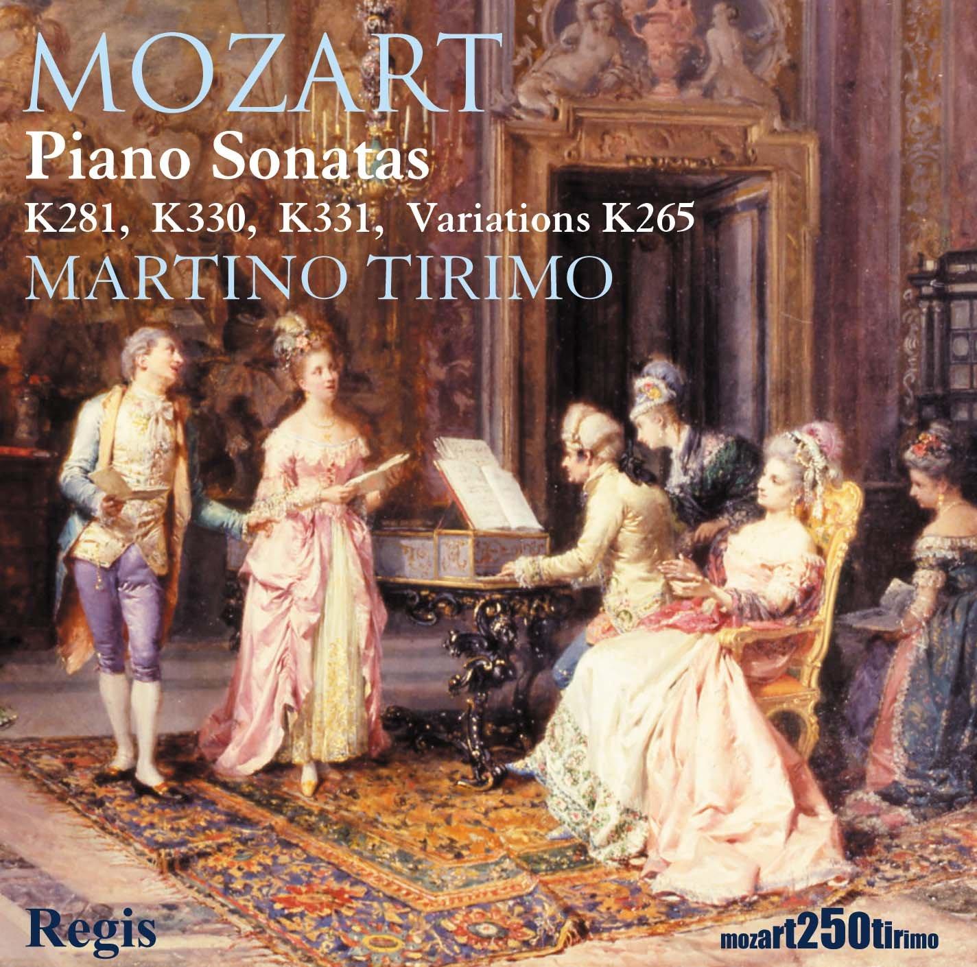 Mozart: Piano Sonatas K281, 330, 331 & Variations K265 by Regis Records