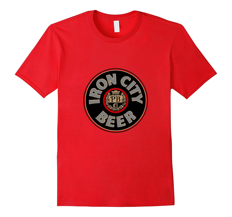 Iron City Beer Black logo t shirt-CD
