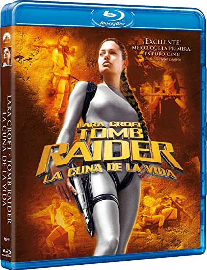 Lara Croft. Tomb Raider 2: La Cuna De La Vida Blu-ray ...