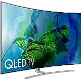 Samsung Electronics QN55Q8C Curved 55-Inch 4K Ultra HD Smart QLED TV (2017 Model)