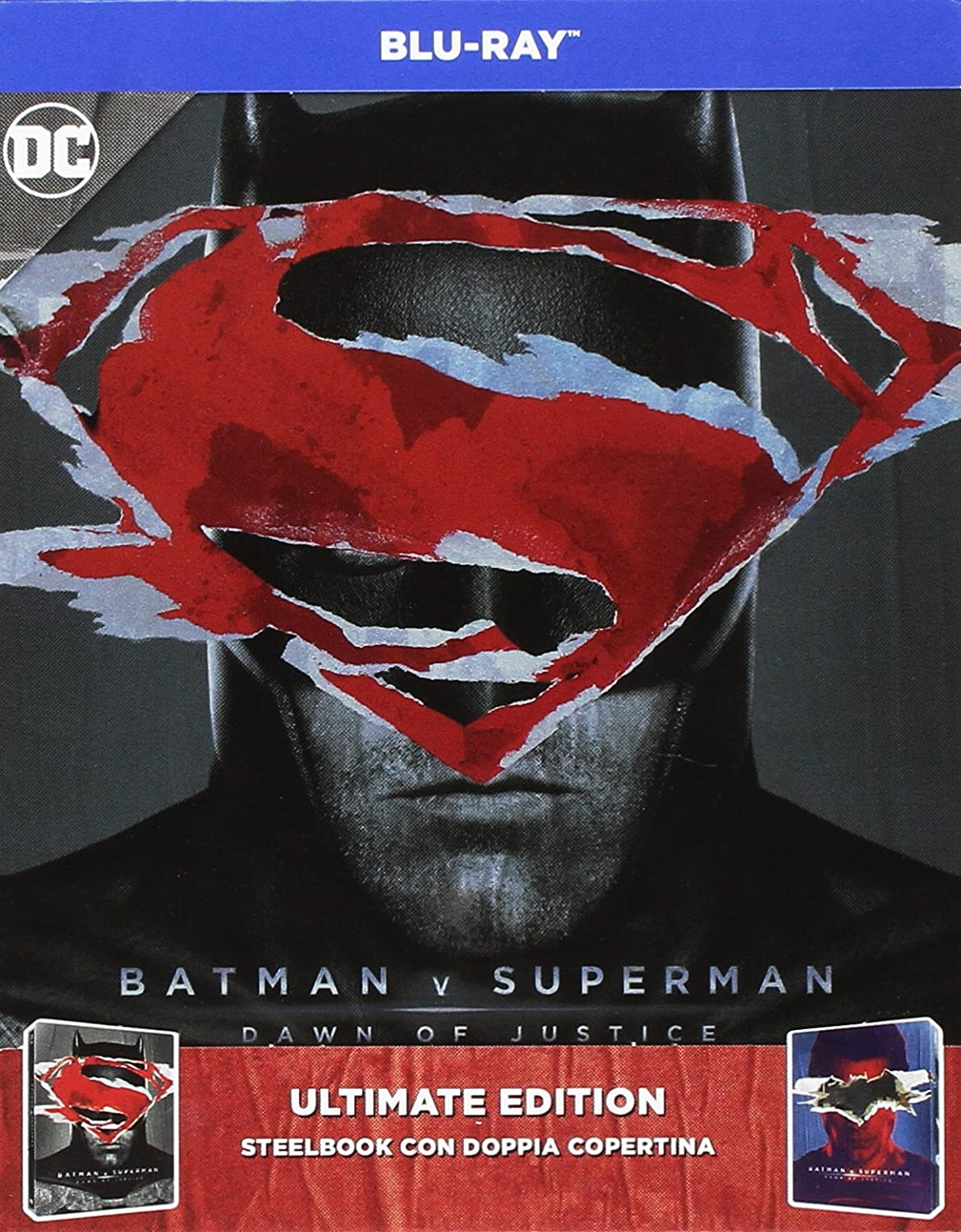 Batman V Superman - Dawn Of Justice (Ultimate Edition) (2 Blu-Ray) [Italia] [Blu-ray]