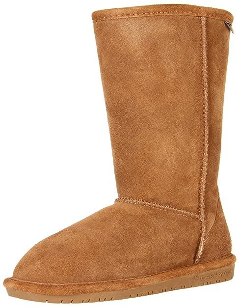 Bearpaw Emma Tall Youth, Botines para Niñas, Braun (Hickory II 220), 36 EU: Amazon.es: Zapatos y complementos