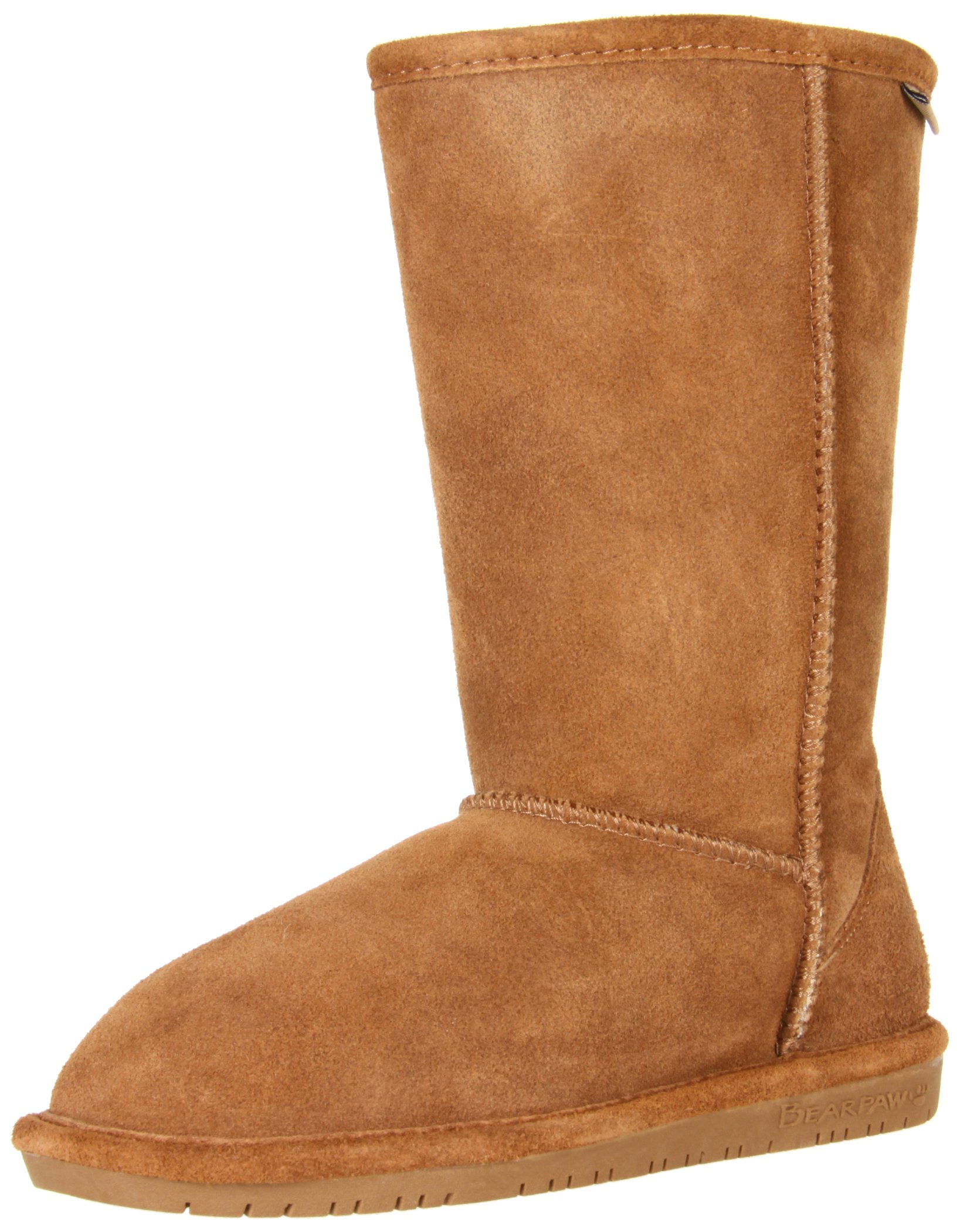 BEARPAW  Emma Tall Youth Boot,Hickory/Champagne,11 M US Little Kid