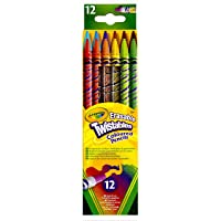 Crayola CRA-68-7508 A Twistable Erasable Colored Pencils, 12-Pack
