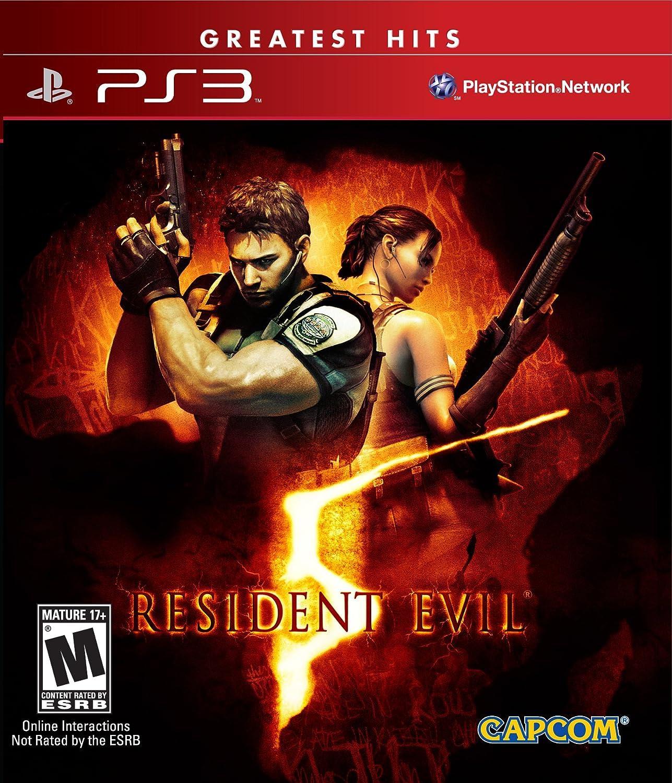 Amazon Com Resident Evil 5 Playstation 3 Capcom U S A Inc