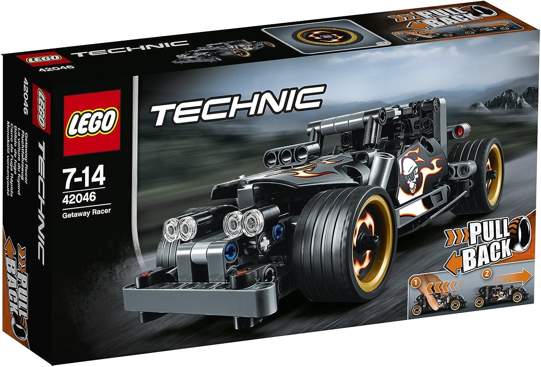 Lego Technik Bauanleitung zum 42046 Fluchtfahrzeug »NEU«