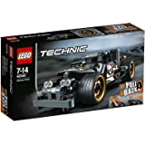LEGO 42046 Technic Getaway Racer Car Toy, 7-14 Years