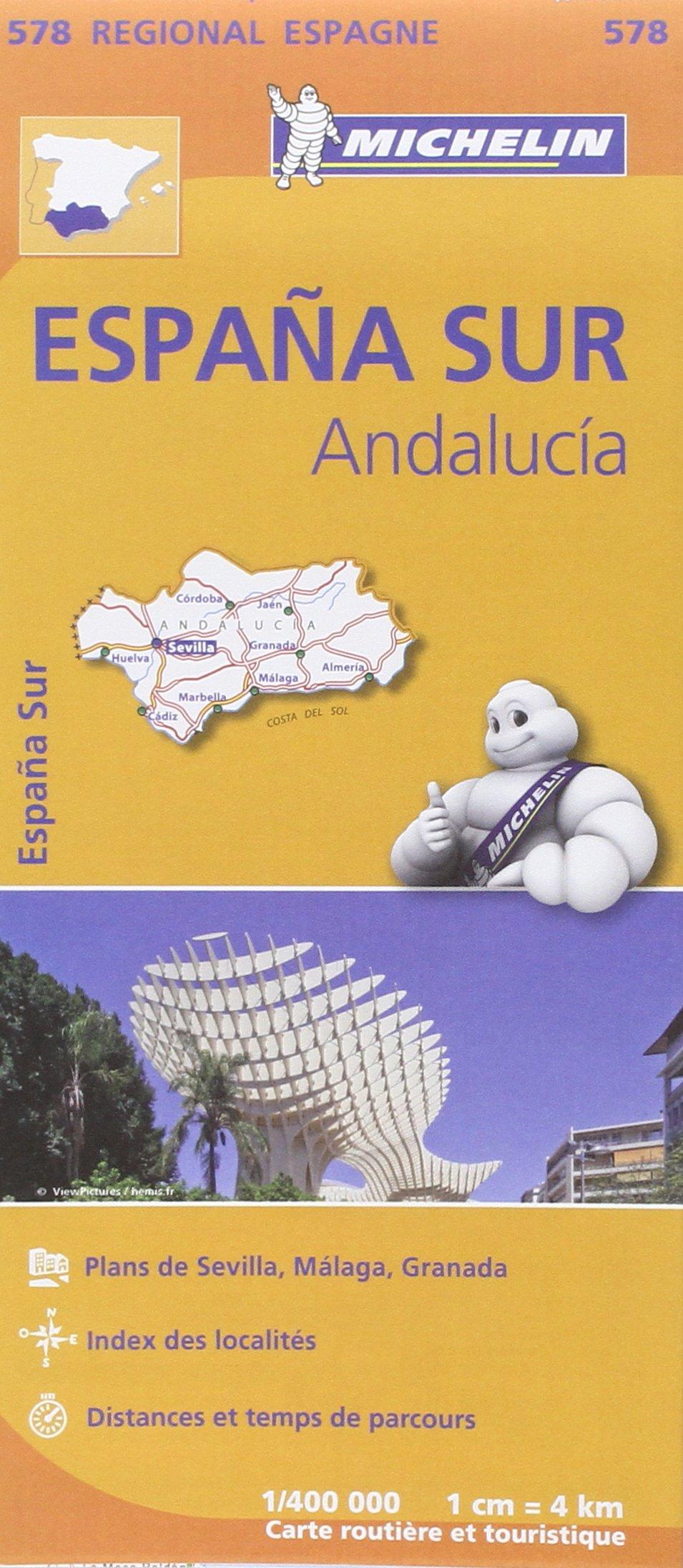 Carte Espagne Andalousie Almunecar.Amazon Fr Carte Espagne Andalousie Michelin Collectif Michelin