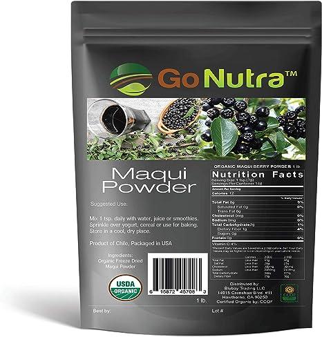 Amazon Com Organic Maqui Berry Powder 1lb Freeze Dried