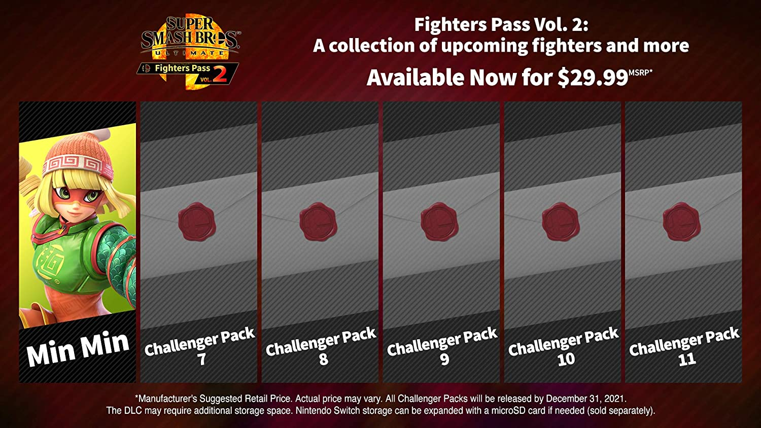 Amazon.com: Super Smash Bros. Ultimate - Fighters Pass Vol. 2 - Switch [Digital Code]: Video Games