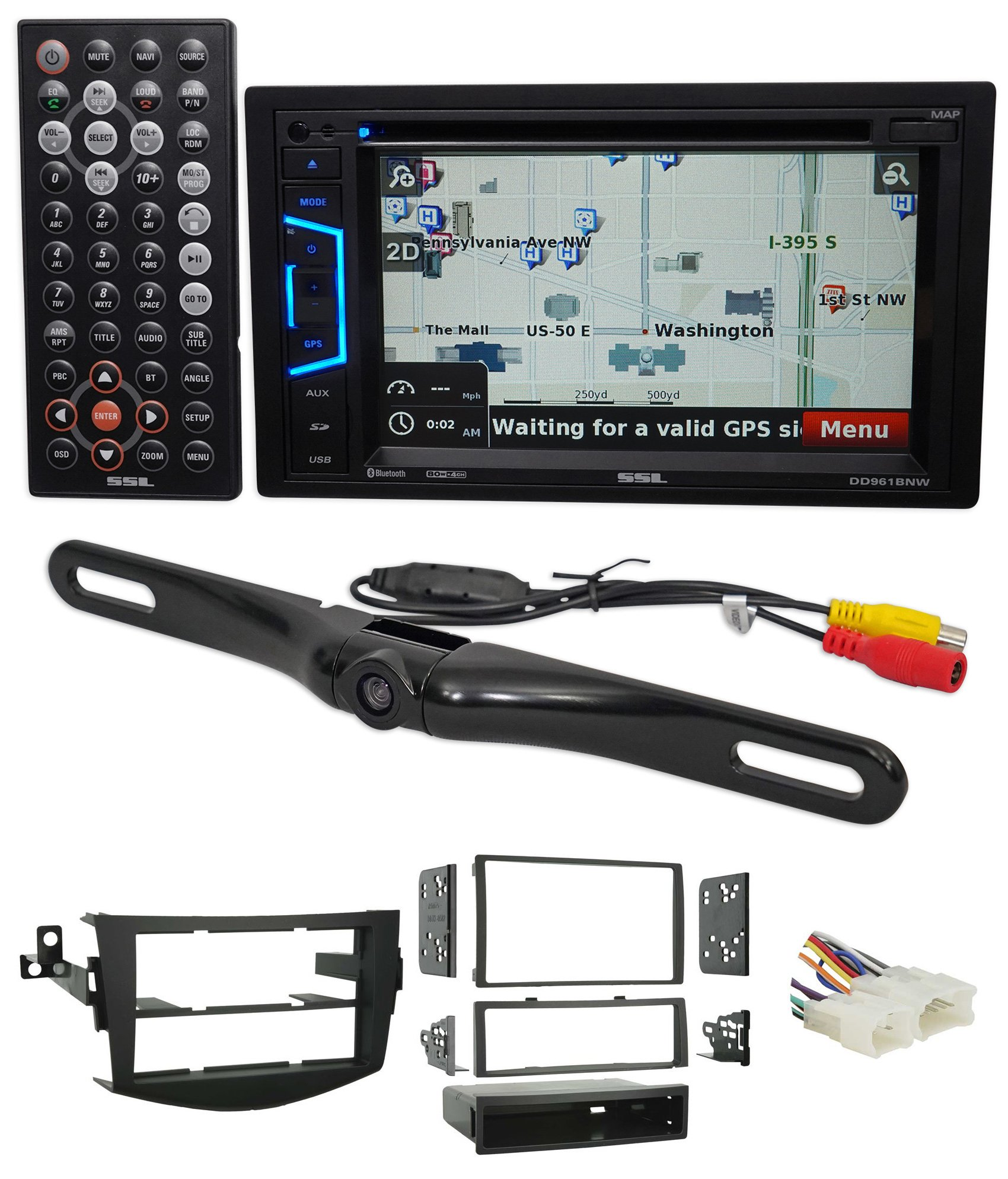2006-2012 Toyota Rav4 Navigation/DVD/USB/SD/MP3 Receiver/Bluetooth+Camera by Sound Storm Laboratories