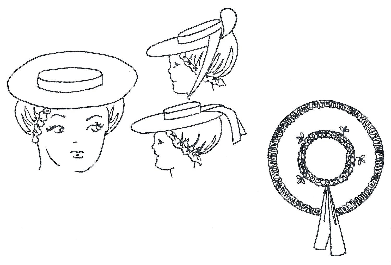Amazon.com  18th Century Colonial Hat Pattern  Arts efdf4b31d94