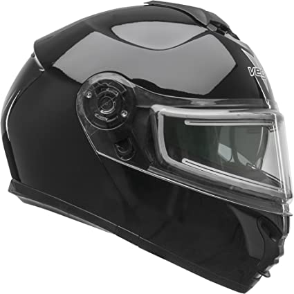 IS-Max II Mine Snow Helmet with Electric Shield HJC Helmets Unisex-Adult flip Style IS Black//Grey//White, Large