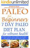 Paleo for Beginners: 7 day Paleo diet plan for vibrant health (Paleo Guides for Beginners Using Recipes for Better Nutrition, Weight Loss, and Detox for Life Book 1)