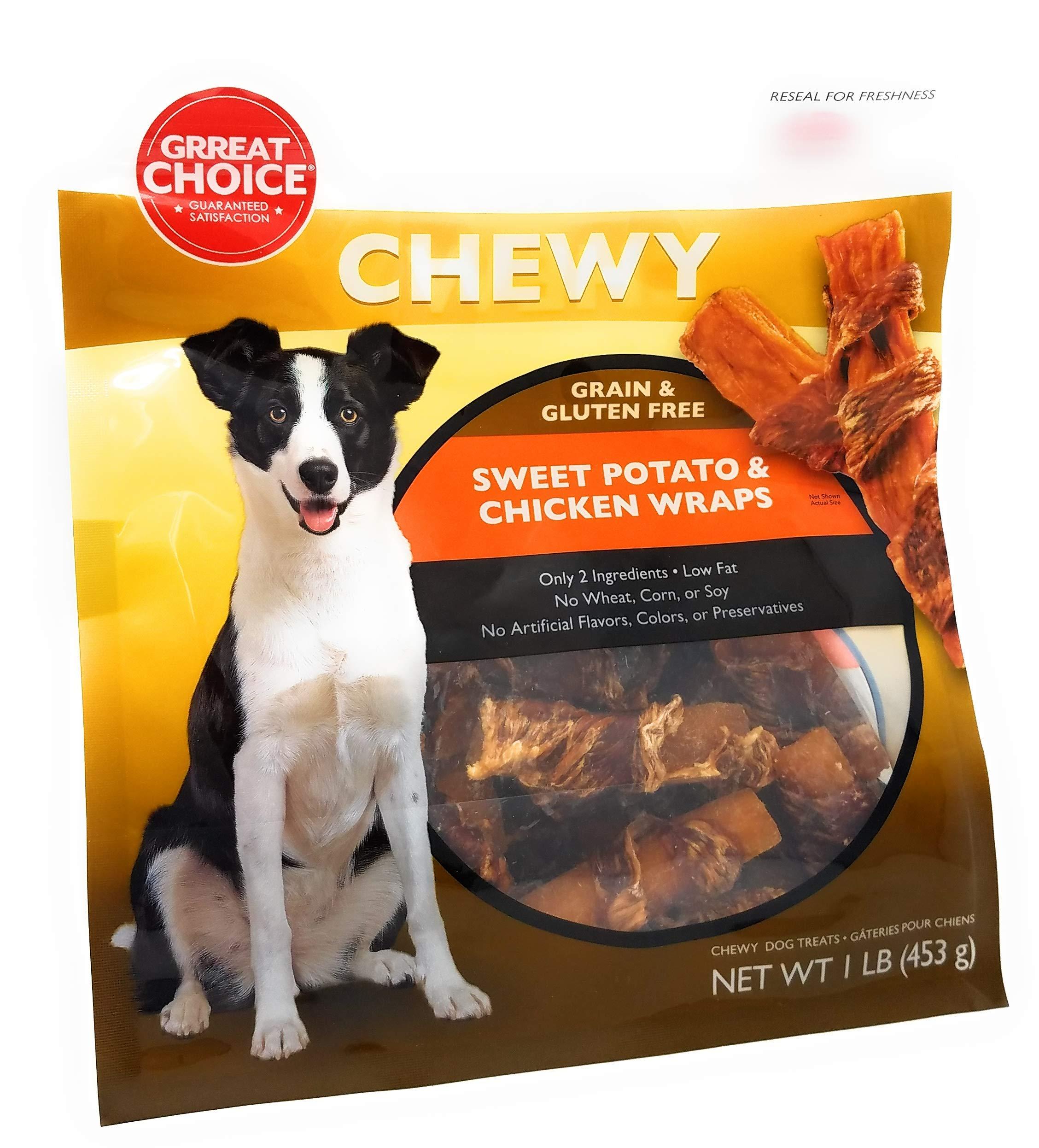Chewy Grain & Gluten Free Sweet Potato & Chicken Wraps by Generic