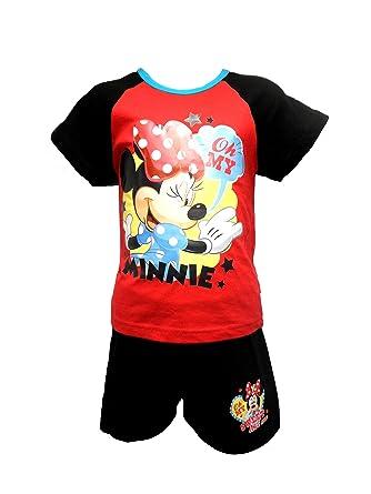 Ragazze DISNEY T SHIRT personaggio Minnie Mouse Ragazze e bambini di età