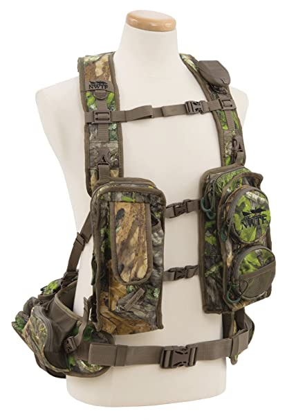 4265bef8c41f2 Amazon.com : ALPS OutdoorZ NWTF Long Spur Hunting Vest, Mossy Oak Obsession  : Sports & Outdoors