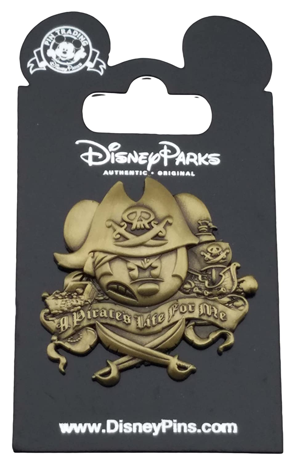 Disney Pin - Mickey Mouse - A Pirate\'s Life For Me