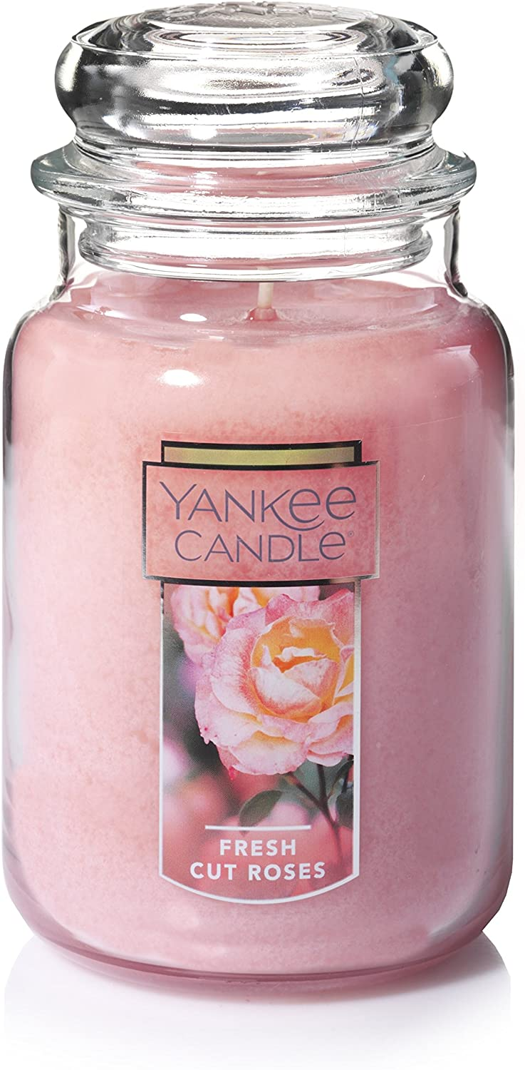 Yankee Candle Large Jar Candle Fresh Cut Roses