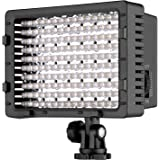 NEEWER 160 LED CN-160 Dimmable Ultra High Power Panel Digital Camera / Camcorder Video Light, LED Light for Canon, Nikon…