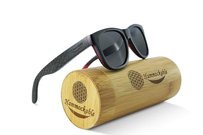 Amazon.com: Anteojos de sol de madera de arce, lentes 100 ...