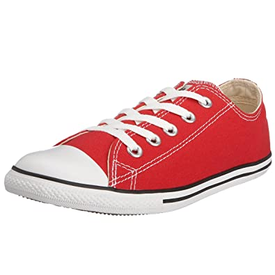Converse As Dainty Ox, Baskets mode mixte adulte - Rouge, 41 EU