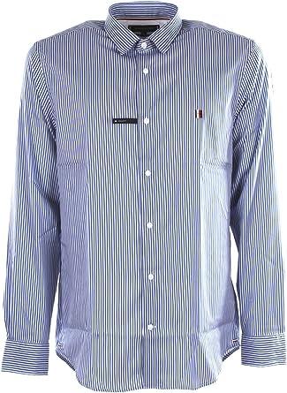 Tommy Hilfiger Modern Essential Striped Shirt Camisa para Hombre: Amazon.es: Ropa y accesorios