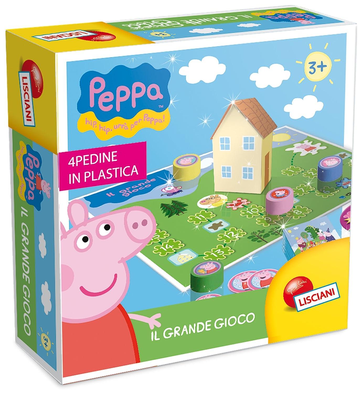 Lisciani 44412 – Peppa Pig El Juegos la Caccia al Tesoro: Amazon ...