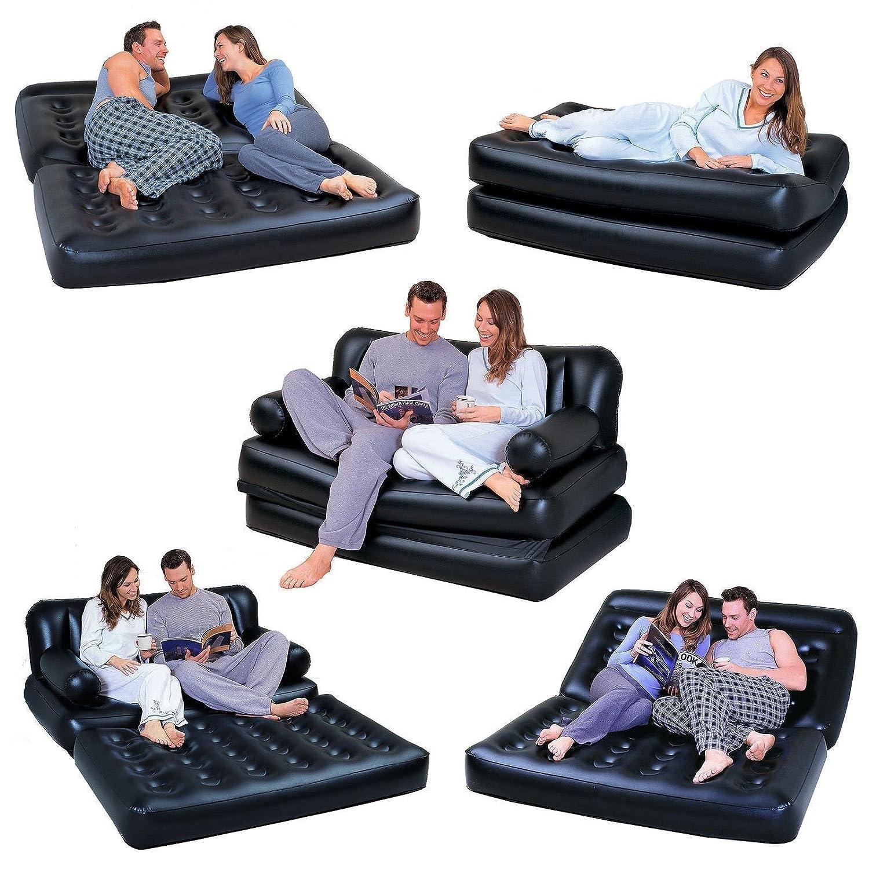 Sofá cama colchón multifunción hinchable reclinable 2 plazas ...