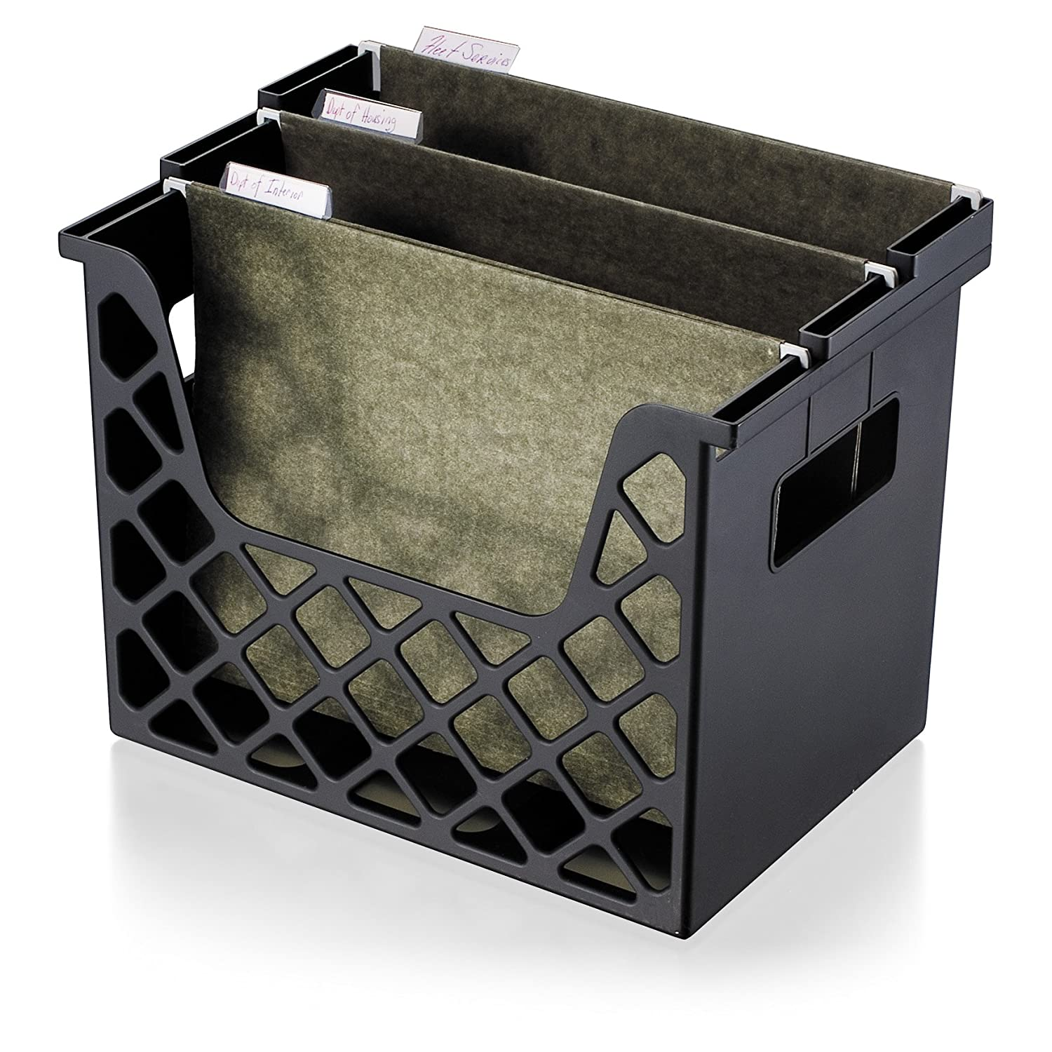 OfficemateOIC Recycled Desktop File Organzier, Black, 1 Organizer (26162) Officemate OIC