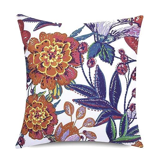Bean Bag Bazaar Cojín para Exteriores - 43 cm x 43 cm ...