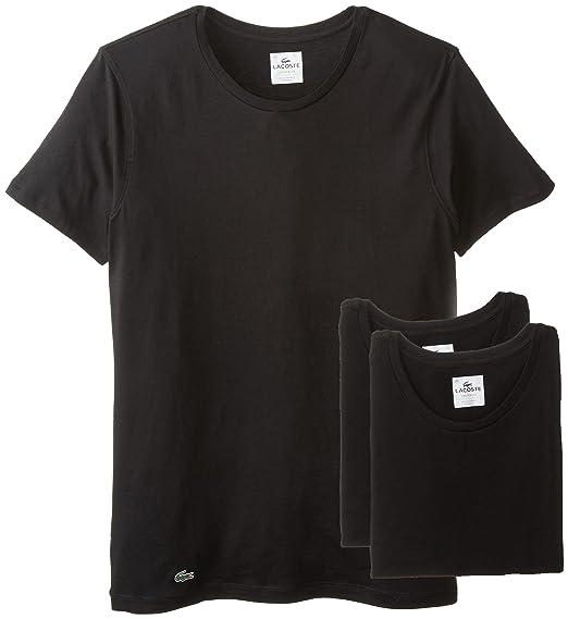 Lacoste 鳄鱼 男式舒比马棉圆领T恤