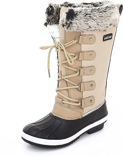 Womens Winter Snow Boots Tall
