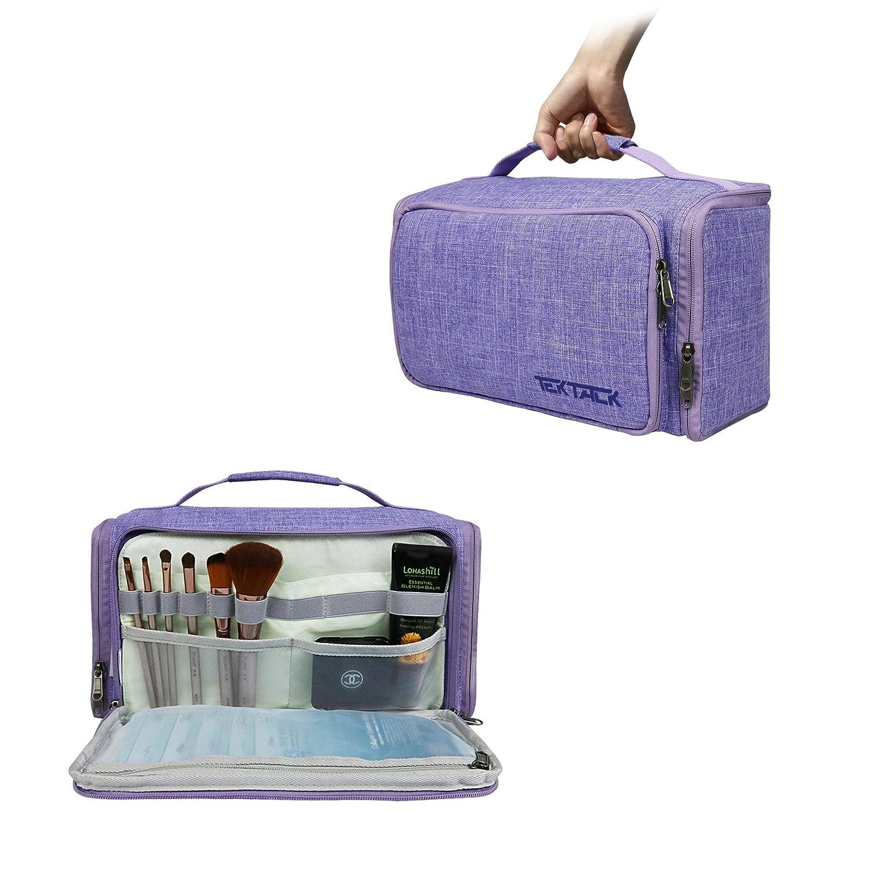 Amazoncom Tektalk Multifunctional Foldable Toiletry Bag Hanging Cosmetic Kit Portable