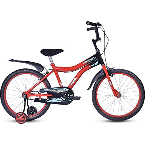 Hero Quicker 20T Steel Single Speed Junior Cycle, 12 Inch  Red  Kids' Cycles
