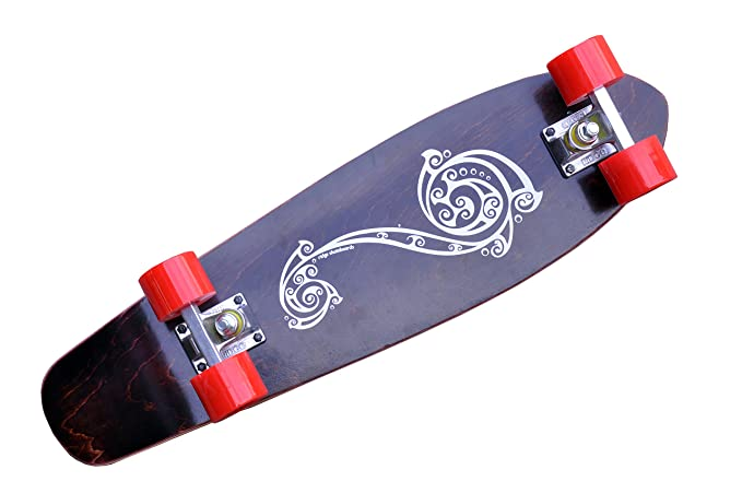 040c9277041fbc Ridge Skateboard Polynesia 69 cm Maple Longboard Cruiser