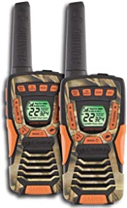 COBRA CXT1045R-FLT 37 Mi Waterproof Floating 2-Way Radios Walkie Talkies, Camo