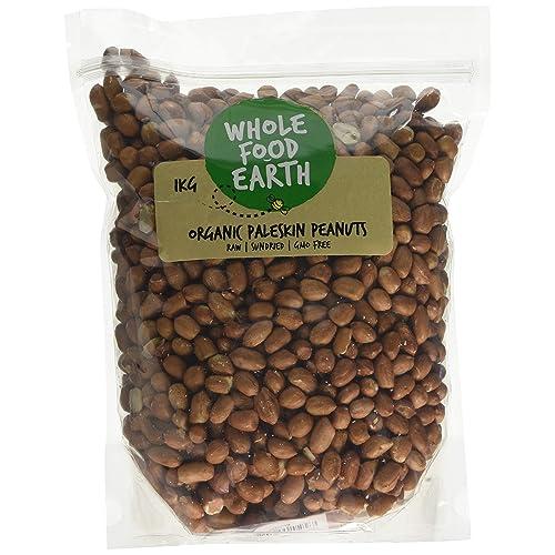 Wholefood Earth Organic Paleskin Peanuts, 1 kg