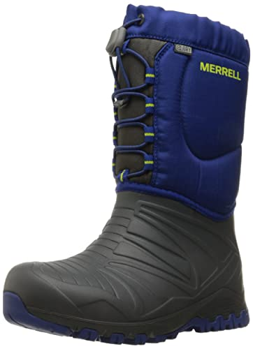 452ab47608 Merrell Snow Quest Lite Waterproof Snow Boot (Little Kid/Big Kid)