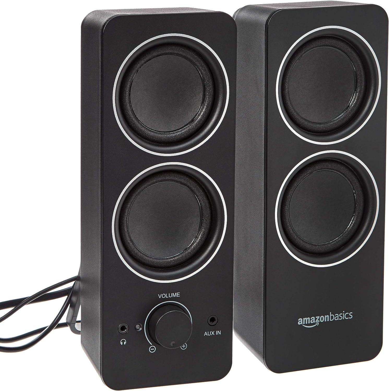 Amazon Basics PC Multimedia External Speakers