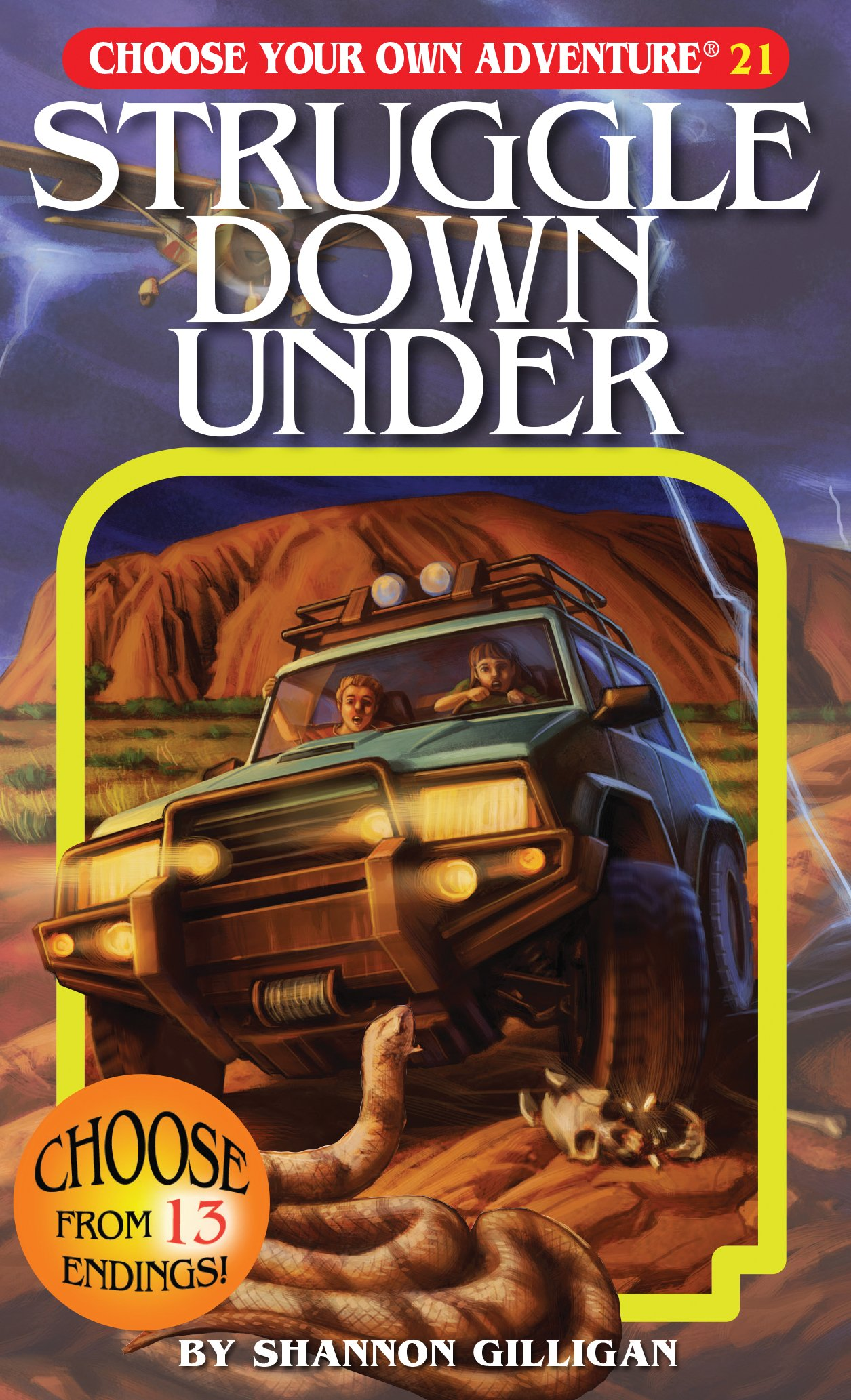 Struggle Down Under (Choose Your Own Adventure #21)