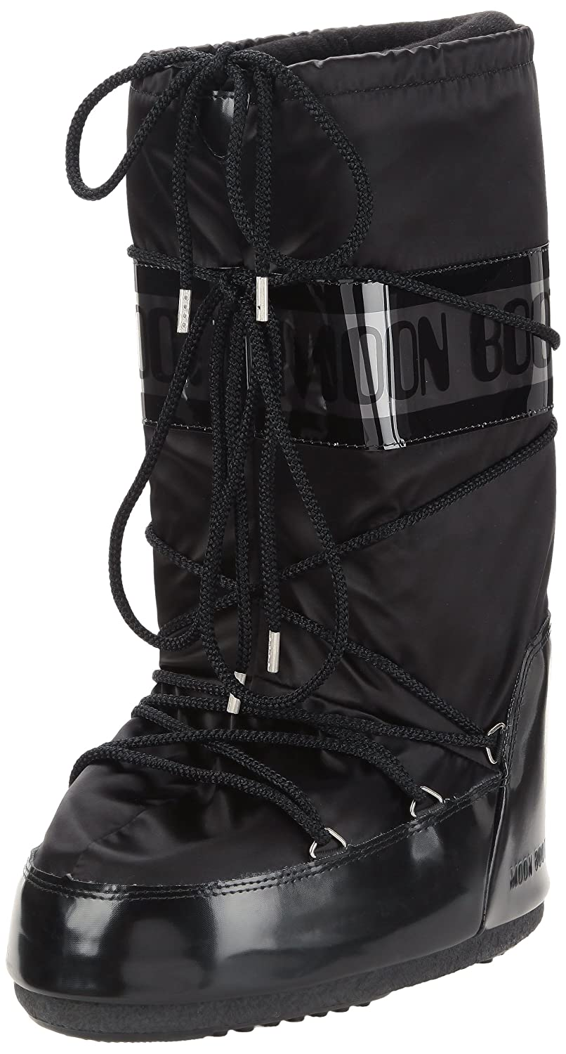 sports shoes 105b5 0728f Unisex Adults Original Tecnica Moon Boot Glance Nylon Knee High Waterproof  Boot