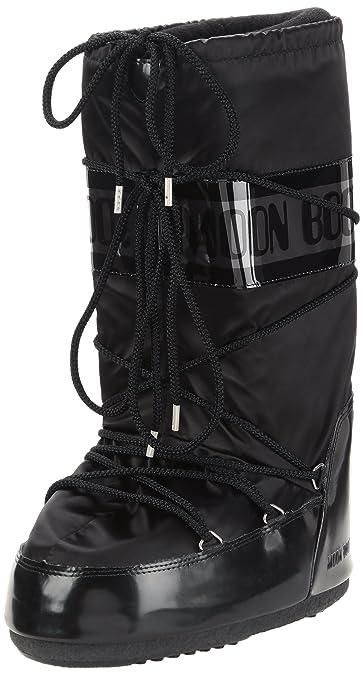 sports shoes 14045 db146 Unisex Adults Original Tecnica Moon Boot Glance Nylon Knee High Waterproof  Boot
