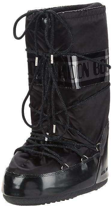 Glance - Botas de nieve, talla: 27/30, Color Negro (Nero 003) Moon Boot