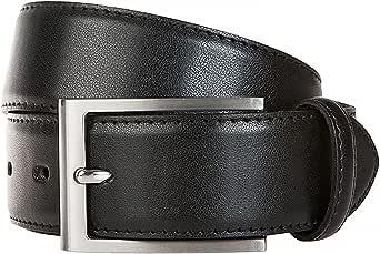 LLOYD Men´s Leather Belt 3.5 W90 Black - recortable