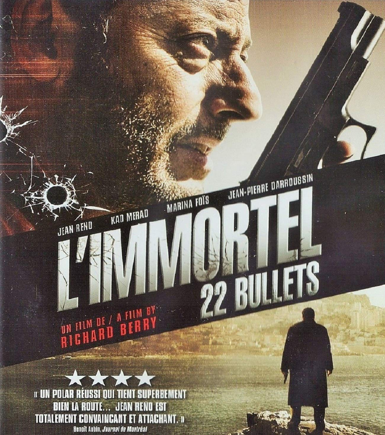 Amazon.com: L'immortel / 22 Bullets [Blu-ray] - English subtitled: Jean  Reno, Kad Merad, Marina Fois, Jean-Pierre Darroussin, Richard Berry,  Pierre-Ange Le ...
