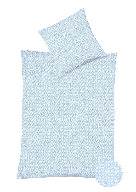 Fleuresse Interlock Jersey Bettwäsche Topas Tim Größe 135x200+80x80 cm Farbe Bleu