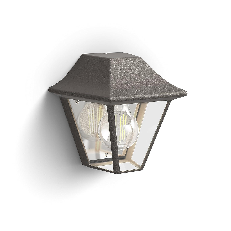iluminaci/ón Exterior Philips myGarden Aplique marr/ón 42 W Resistente a la Humedad y la Intemperie E27 IP44