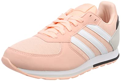 finest selection d6df3 43b91 adidas 8k K Chaussures de Gymnastique Mixte Enfant, Multicolore (Haze Coral  S17ftwr